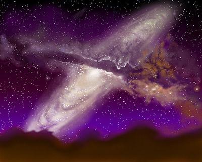 v2 2 - Milky way Glaxy